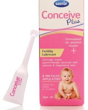 Conceive Plus – Lubricante compatible con la fertilidad