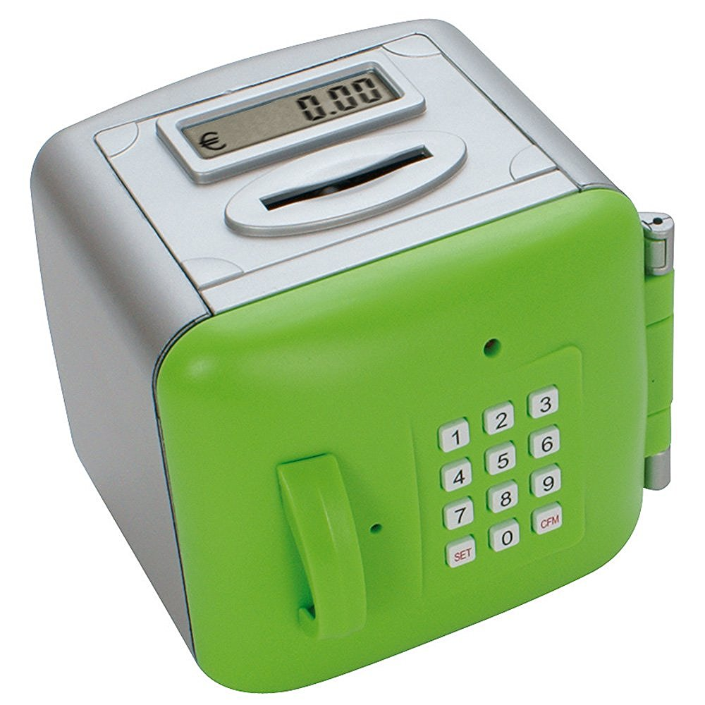 Hucha electrónica con contador