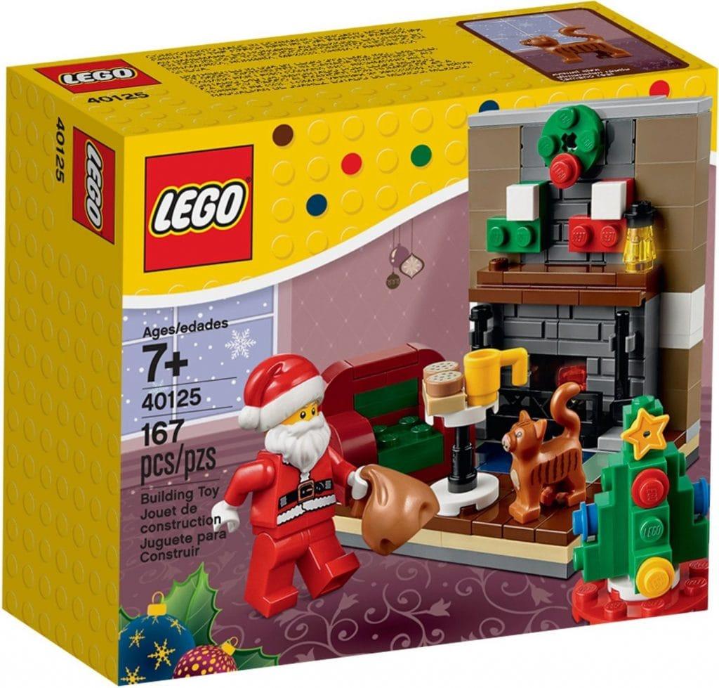 Lego Papa Noel visita