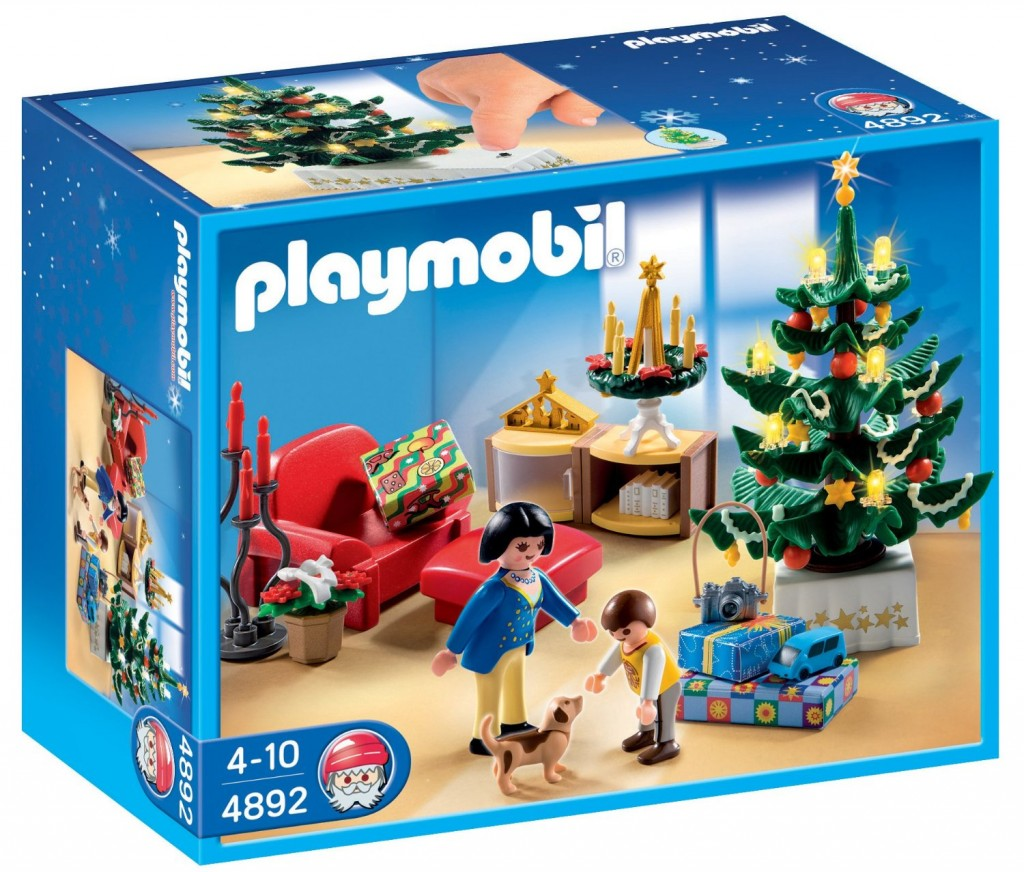 Playmobil habitación navideña