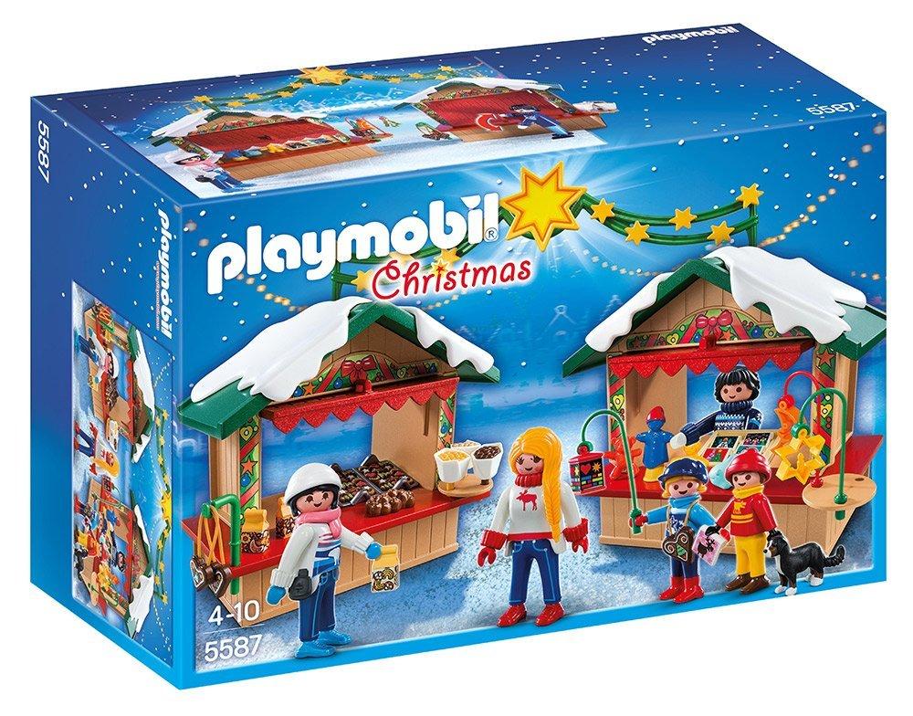 Playmobil mercadillo navideño