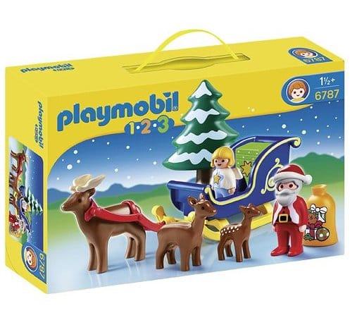 Playmobil Navidad Colección 1.2.3 Trineo de Papá Noel