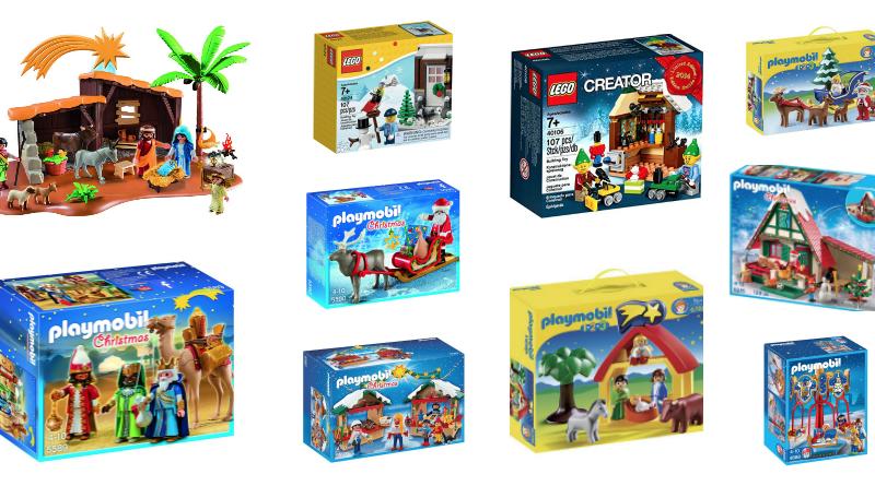 Playmobil y Lego de Navidad