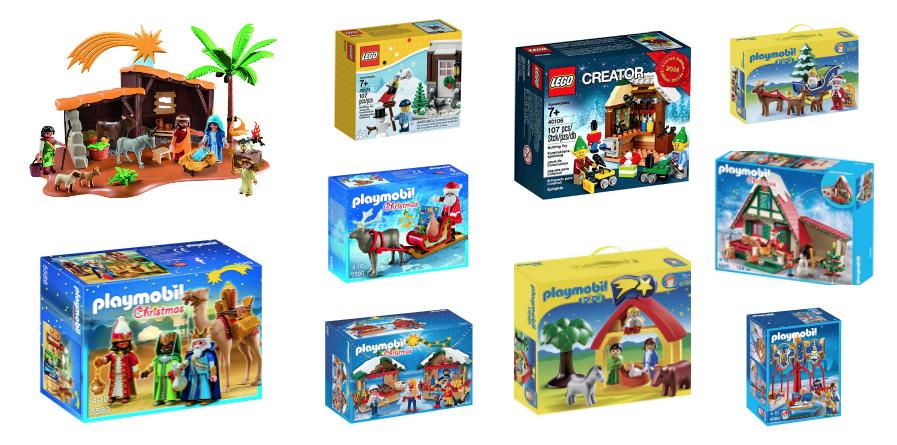91f7f9cba55 Playmobil y Lego de Navidad  el Belén ahora sí es para jugar