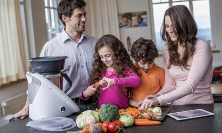Thermomix para cocinar PARA niños y CON niños ¿merece la pena?