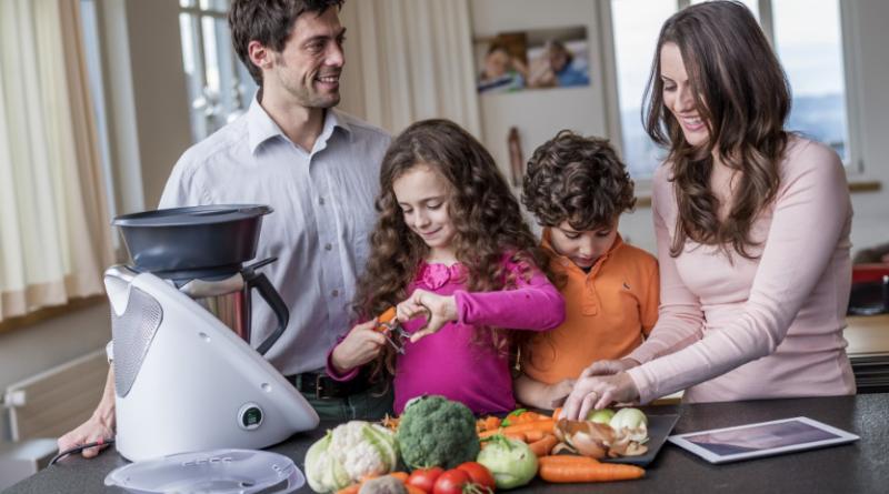 Thermomix para cocinar para niños y con niños