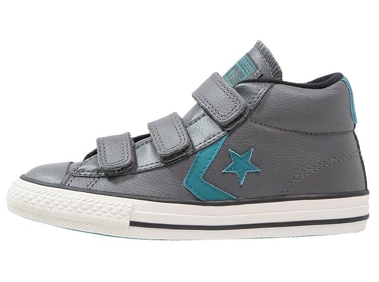 Zapatillas niño Converse de piel forradas