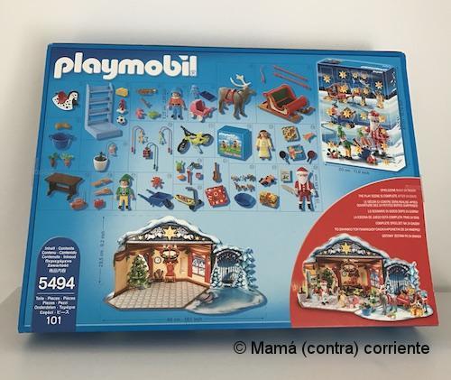 """Calendario de Adviento Playmobil """"Papá Noel Centro de Embalaje"""" - detalle de todas las figuras"""