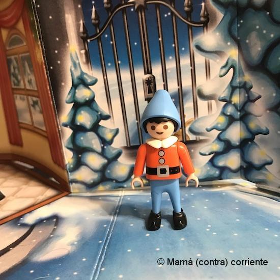 """Calendario de Adviento Playmobil """"Papá Noel Centro de Embalaje"""" - figura día 4"""