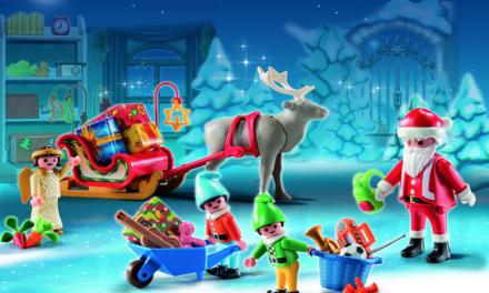 """Nuestro Calendario de Adviento de Playmobil: """"Papá Noel Centro de Embalaje"""""""