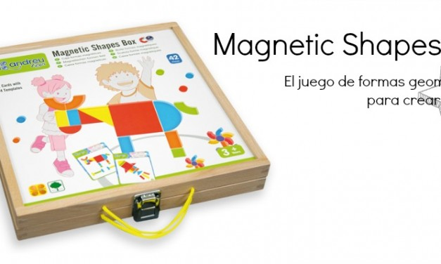 Magnetic Shapes Box de AndreuToys
