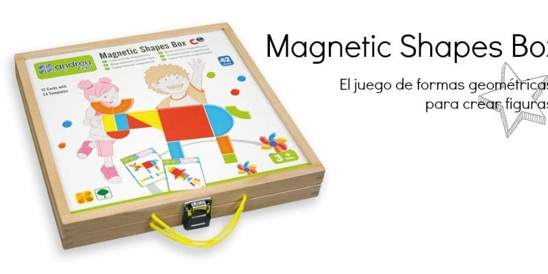 Magnetic Shapes Box, de AndreuToys