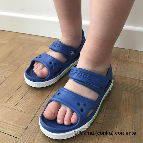 Crocs Crocband II Sandal Kids (color azul)