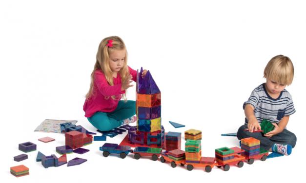Playmags: piezas magnéticas para horas de diversión