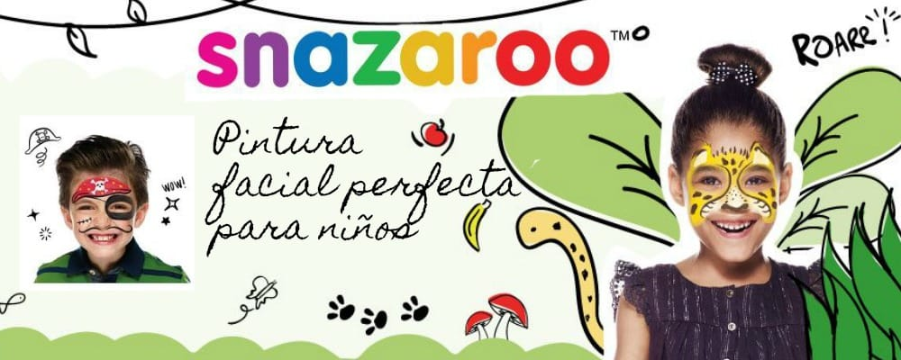 Pintura facial Snazaroo, perfecta para niños