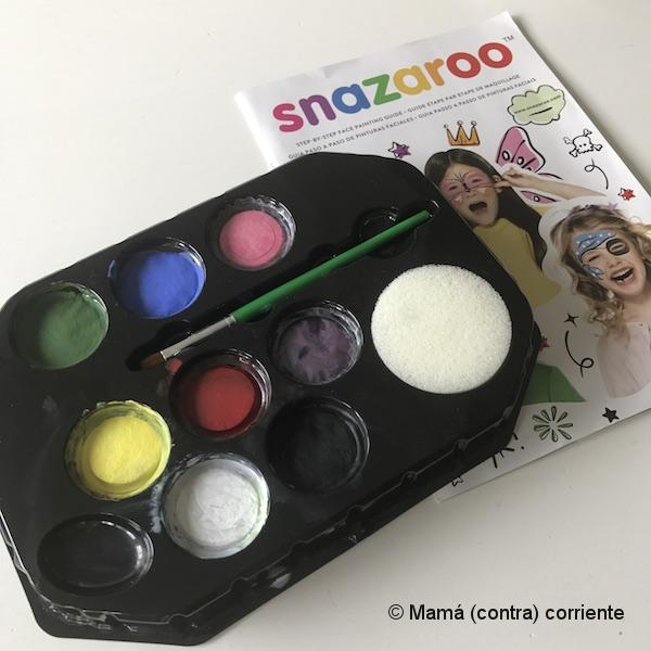 Pintura facial Snazaroo (set 8 colores)