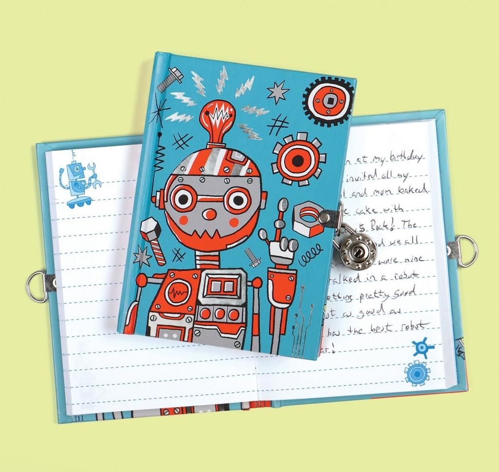 Diario niño con candado
