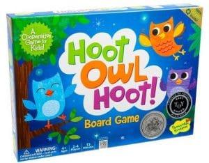 Hoot Owl Hoot! - Nuestro primer juego de mesa cooperativo