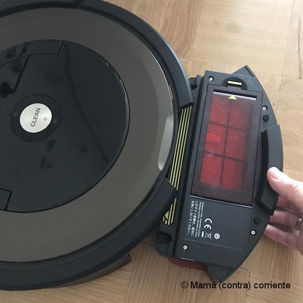 iRobot Roomba | sacar depósito