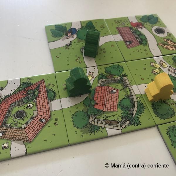Carcassonne Junior (cómo se juega)