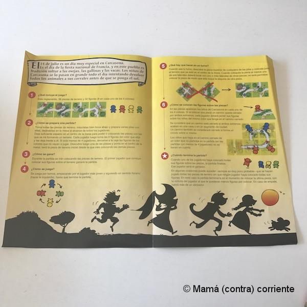 Carcassonne Junior (instrucciones)