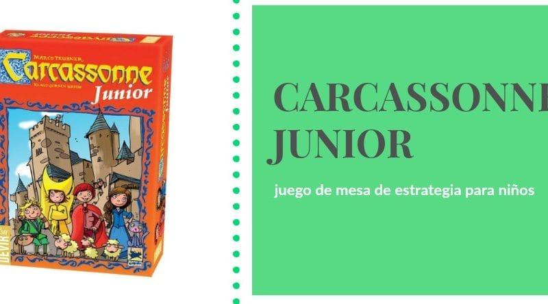 Carcassonne Junior El Clasico Juego De Mesa De Devir Para Ninos