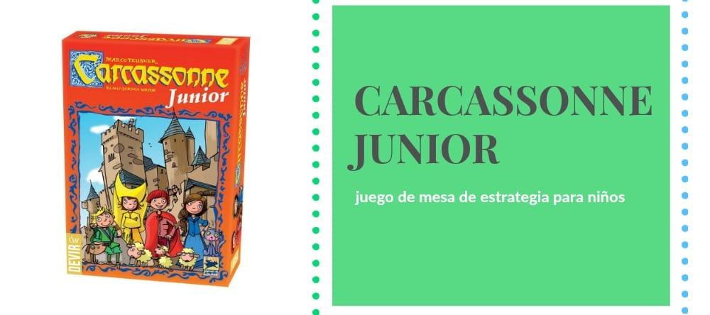 Carcassonne Junior: el clásico juego de mesa de Devir, para niños
