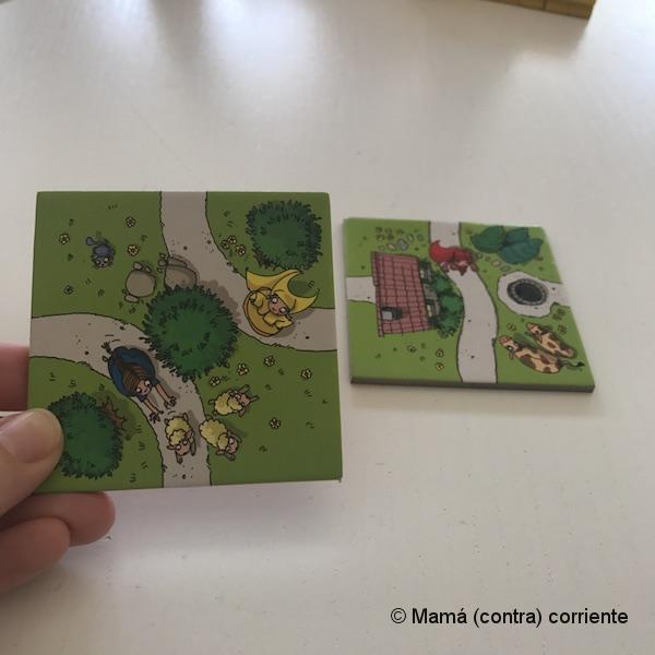 Carcassonne Junior (como poner piezas)