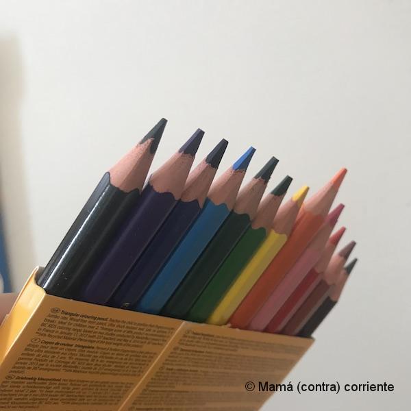 Caja de lápices triangulares BIC Kids