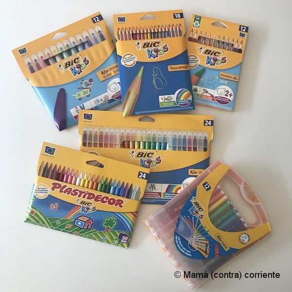 Pack de productos BIC Kids