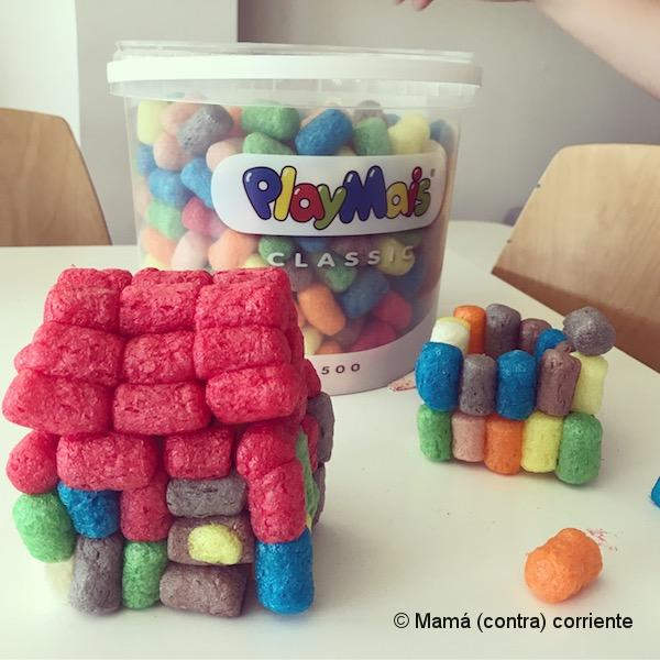 PlayMais cubo 500 piezas