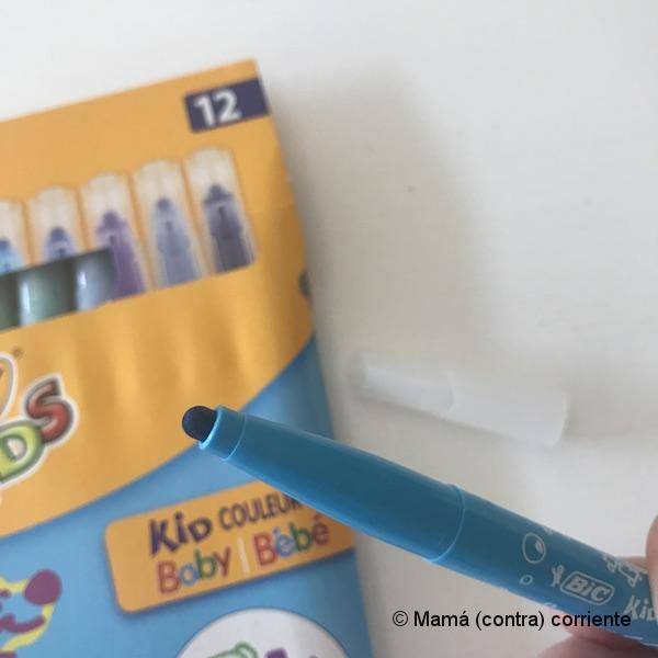 Punta de los rotuladores BIC Kids Baby