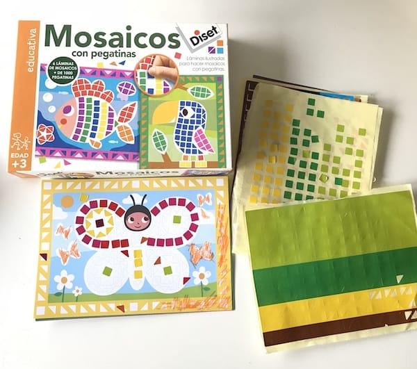 Diset Mosaicos con pegatinas
