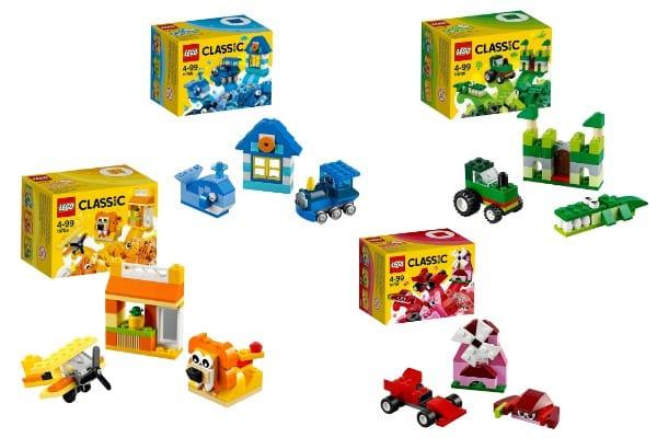 Cajas creativas Lego Classic
