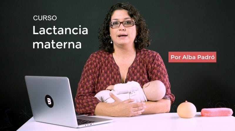 Curso lactancia materna Alba Padró en Escuela Bitácoras