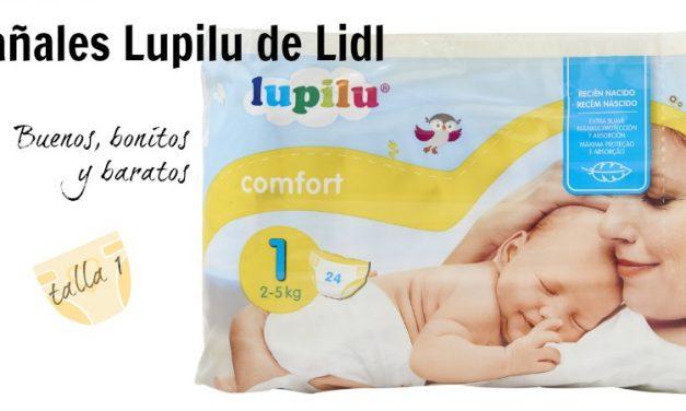 Pañales Lidl Lupilu talla 1: buenos, bonitos y baratos