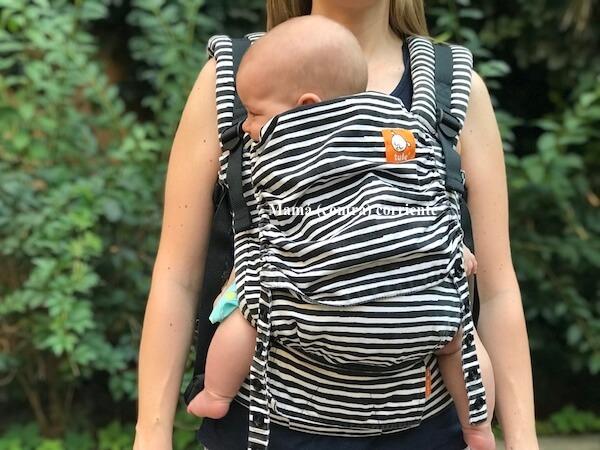 Mochila Tula Free to Grow bebé 4 meses
