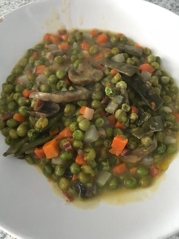 Wetaca - Menestra de verduras