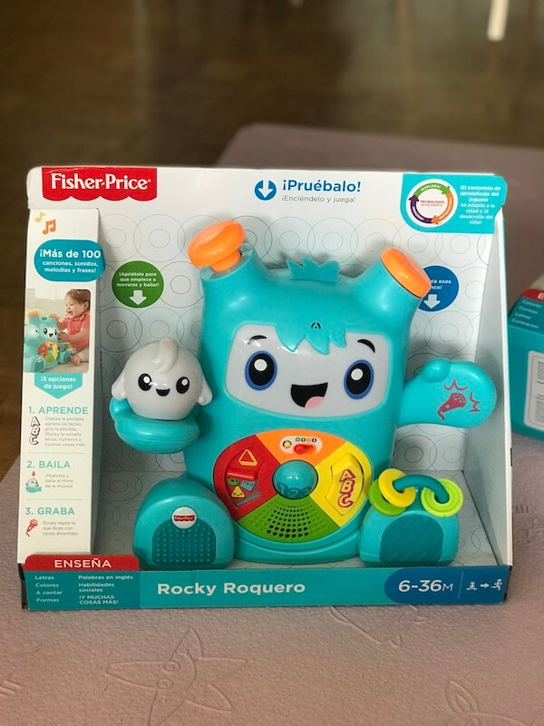Fisher Price Rocky Roquero (caja)