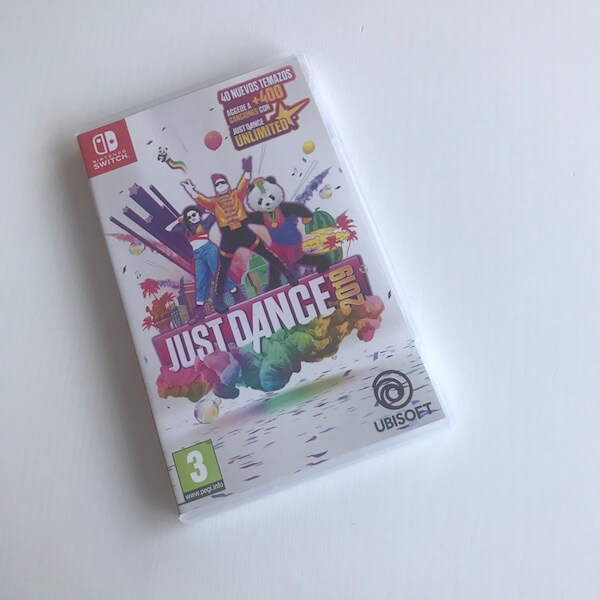 Just Dance 2019 Nintendo Switch - Caja (anverso)