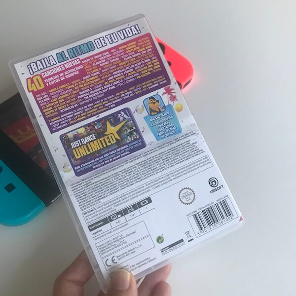 Just Dance 2019 Nintendo Switch - Caja (reverso)