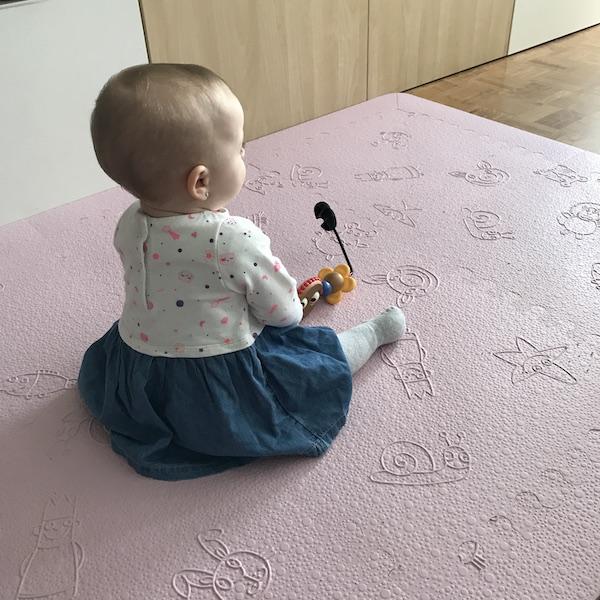 Lü Babymats alfombra infantil acolchada (tamaño)