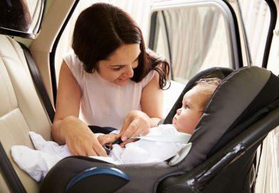 Mi bebé llora en el coche