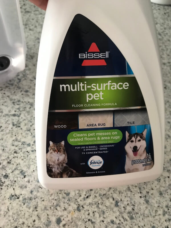 Bissell Crosswave Pet Pro limpiador multisuperficie