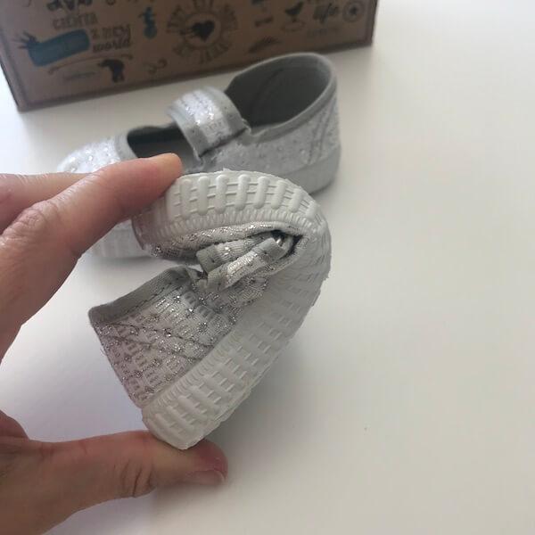 Zapatillas lona Cienta suela flexible