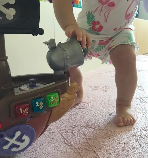 Barco Pirata Cazatesoros Vtech cañón