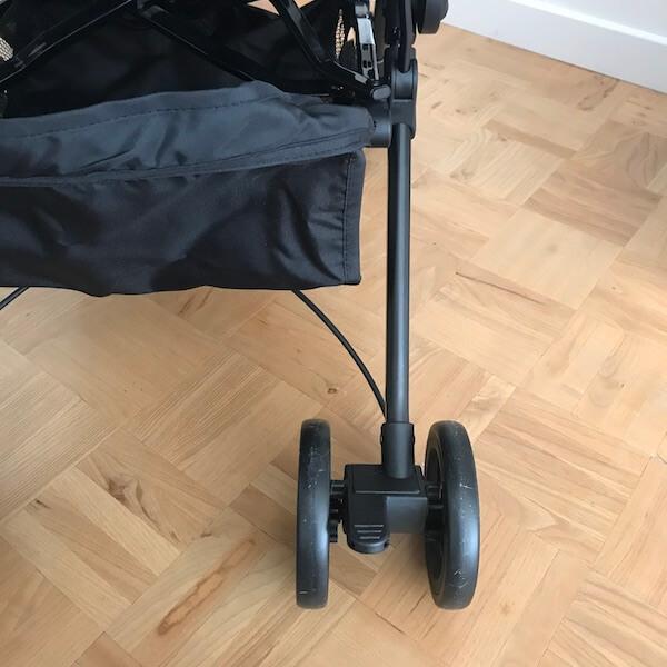Ioda silla de paseo de Olmitos - ruedas y freno