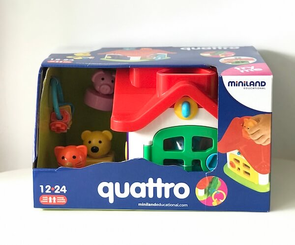 Casita Quattro Miniland (caja)