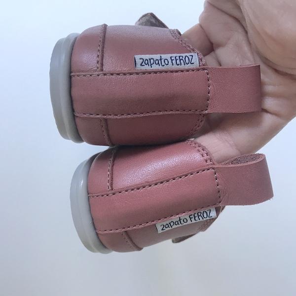 Zapato Feroz modelo Garbí - detalle talón