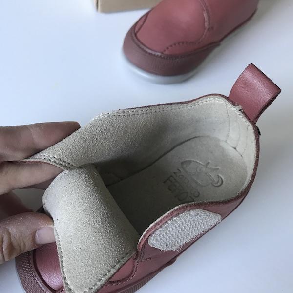Zapato Feroz modelo Garbí - interior
